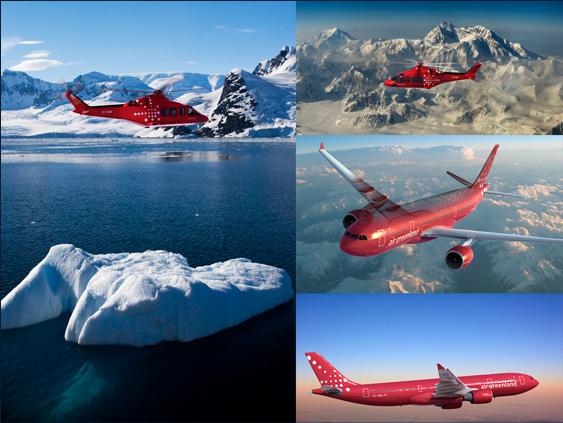 Đặt vé máy bay Air Greenland