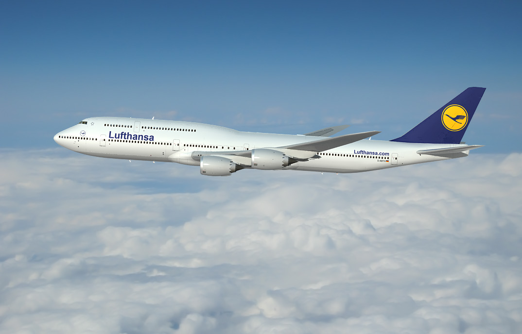 Boeing 747-8, 3d  aircraft images 3