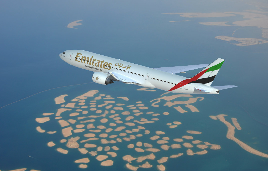 Boeing Emirates 777, 3d aircraft foto 2