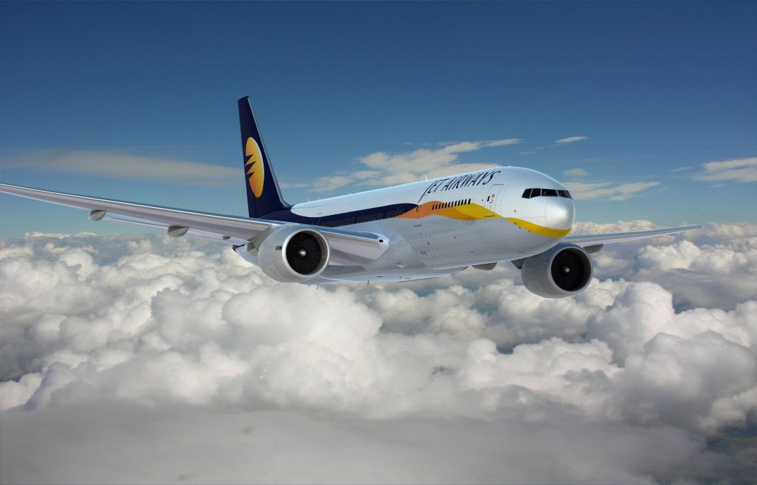 Boeing Jet Airways 777, 3d aircraft foto 3