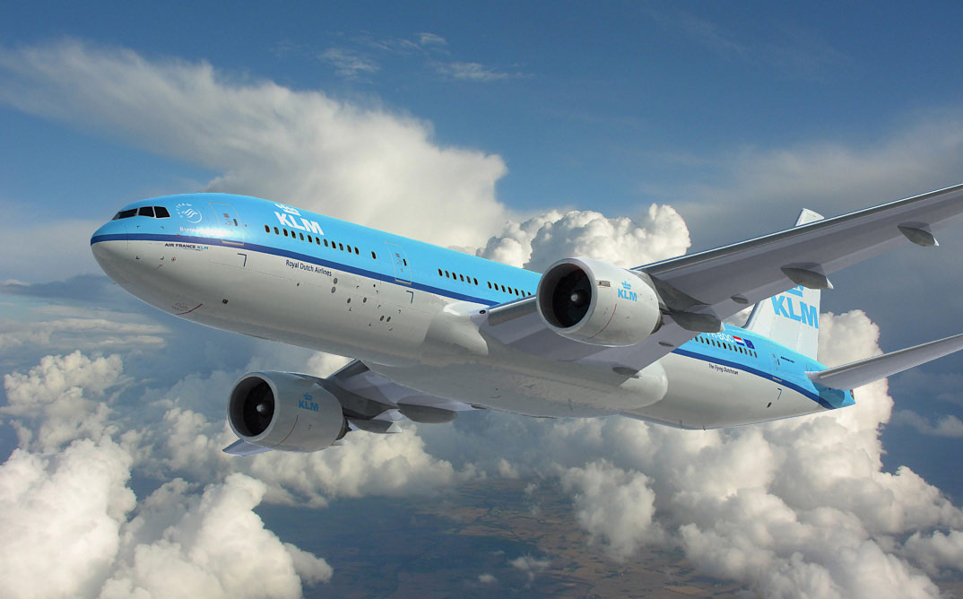 Boeing KLM 777, 3d aircraft foto 4