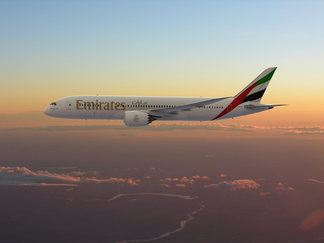 Boeing Emirates 787, 3d aircraft foto 7