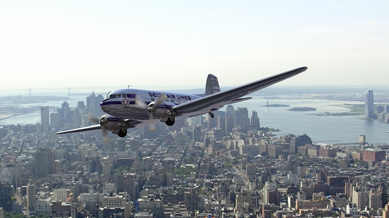 DC-3, 3d aircraft photo 2