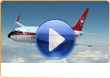 Cimber Sterling, 3D promotional video production and airplane graphics