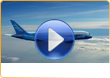 Boeing 787, 3D promotional video production and airplane images